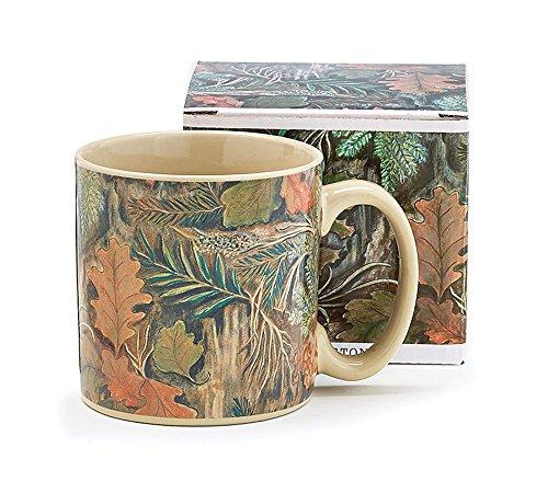 Camouflage 13 Oz Coffee Mug/cup Woodland Design for Hunters (Camouflage Coffee Mug compare prices)