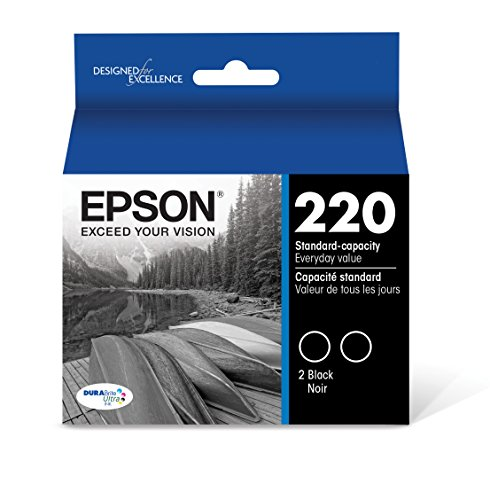 Epson DURABrite Ultra Black Dual-Pack Ink Stnd-cap Ink (T220120-D2)