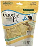 Healthy Hide Good 'n' Fit Skin and Coat Chews, Natural Rawhide Chips, 4-Ounce