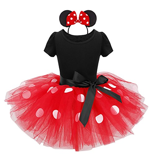 [FEESHOW Baby Girls Halloween Xmas Party Fancy Dress up Costume Headband] (Holiday Ballet Costumes)