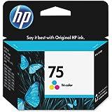 HP 75 (CB337WN) Tri-color Original Ink Cartridge