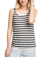 ESPRIT Top (Blanco / Negro)