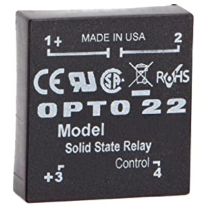 opto 22 dc60p p model dc control solid state relay 60 vdc. Black Bedroom Furniture Sets. Home Design Ideas