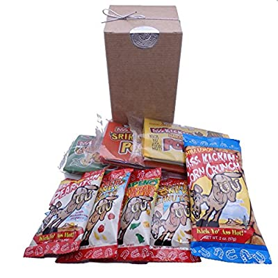 Spicy Hot Gourmet Snack Gift Box
