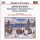 Piano Quartet / String Quartet No. 1 / Nocturne and Scherzo