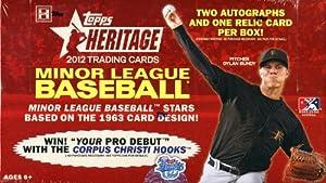 2012 Topps Heritage Minor League Baseball box (24 pk HOBBY) by Topps