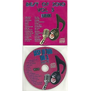 BEST OF 2010 #3 CD+G KARAOKE 16 Current Pop Songs