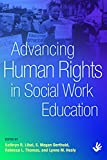 img - for Advancing Human Rights in Social Work Education book / textbook / text book