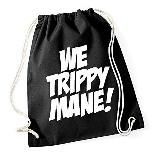 we-trippy-mane-gymsack-black-certified-freak