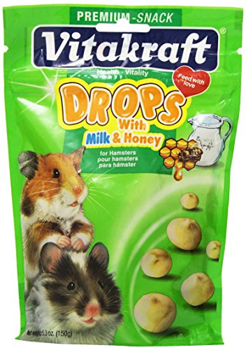 Vitakraft Hamster Drops and 5.3-Ounce Pouch 512tRXbEaJL