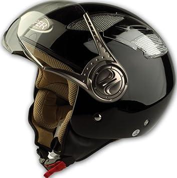 M Argento Casco Integrale con Visiera per Moto KH-5 Ultrasport