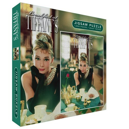 Cheap Wall Posters Breakfast At Tiffanys Table Jigsaw Puzzle 1000 Pieces (B004CTBBEY)