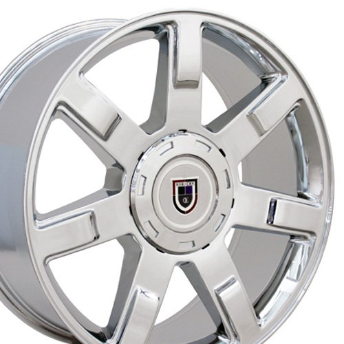22x9 Wheel Fits Cadillac - Escalade Style Chrome Rim (22 Inch Rims For A Cadillac compare prices)