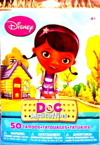 Doc Mcstuffins 50 Count Tattoos