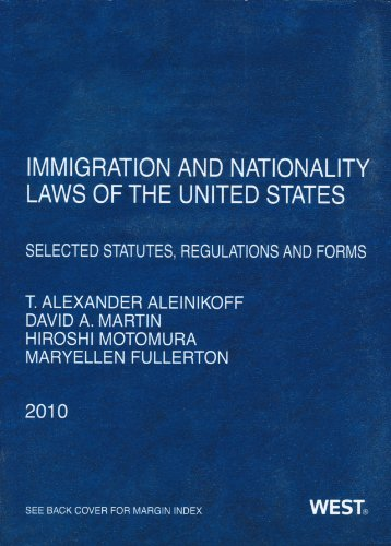 Immigration Nationality Laws of the United States:...