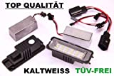 TOP Led Kennzeichenbeleuchtung VW Lupo 1998-2005