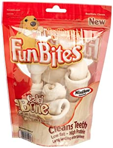 FunBites Mini Bone Beefhide Chews for Dogs, 5.94-Ounce Packages (Pack of 4) at Sears.com