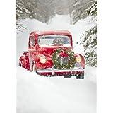 Avanti Christmas Cards, Old Fashioned Truck, 10 Count ~ Avanti Press