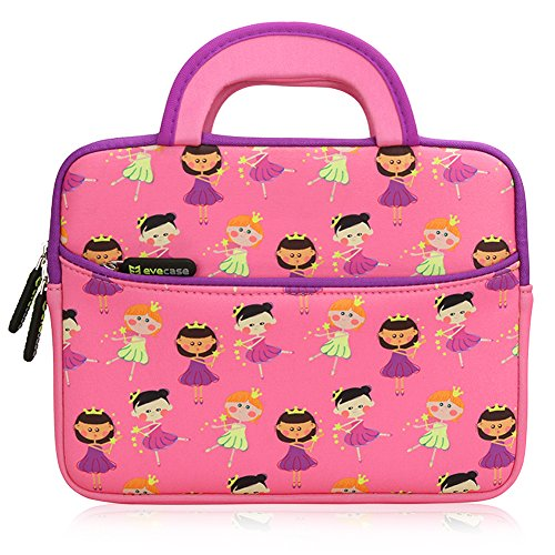 Review Of Evecase Cute Fairy Tale Princess Themed Neoprene Carrying Sleeve Case Bag For 8.9 - 10.1 i...