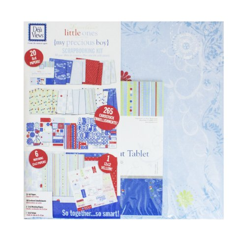 Baby boy scrapbook kit everything about scrapbooking com