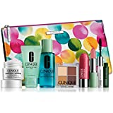 NEW 2015 Clinique 8 Pcs Makeup Skincare Gift Set with Repairwear Uplifting Firming Cream & More! ($85+ Value)