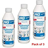 HG Professional Limescale Remover (Hagesan Blue) 500ml Pack of 3 - 100050106