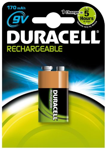 Duracell 9V Nimh Rechrgeable Battery
