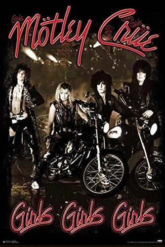 Mötley Crüe Girls, Girls, Girls Poster Standard