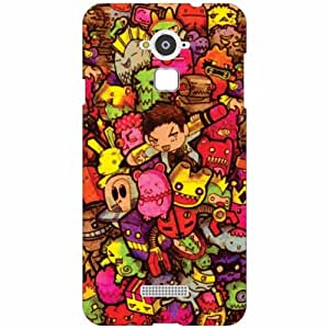 Coolpad Note 3 Back Cover - Silicon Character Designer Cases