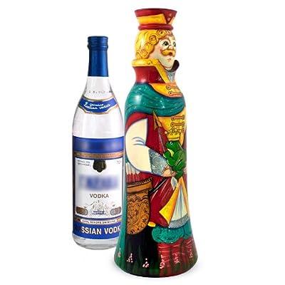 0.5 L Wine Bottle Holder Frog Princess Wooden Wine Bottle Gift Box Russian Souvenir