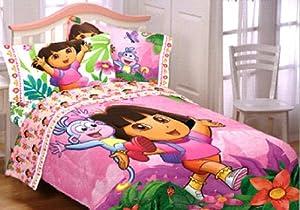 dora the explorer bedding set padded duvet cover with