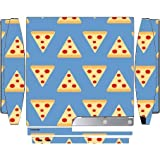 Pizza Wallpaper Yum Playstation 3 & Ps3 Slim Vinyl Decal Sticker Skin By Debbies Designs