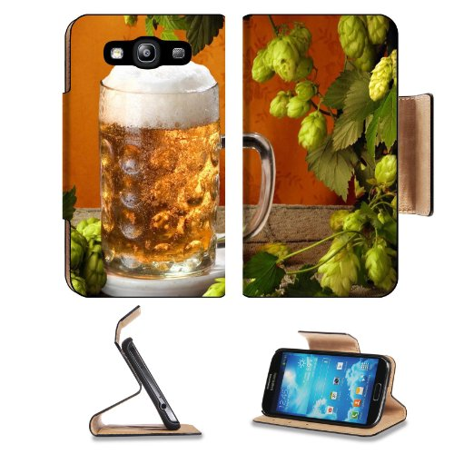 Cold Refreshing Jug Beer Beverage Samsung Galaxy S3 I9300 Flip Cover Case With Card Holder Customized Made To Order Support Ready Premium Deluxe Pu Leather 5 Inch (132Mm) X 2 11/16 Inch (68Mm) X 9/16 Inch (14Mm) Luxlady S Iii S 3 Professional Cases Access front-1058930