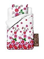 SleepTime Juego De Funda Nórdica Baby Flower (Rosa)