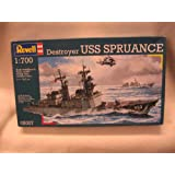 Revell 1:700 Destroyer USS Spruance