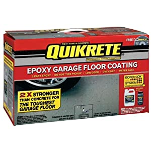 Quikrete® Light Gray Epoxy Garage Floor Coating