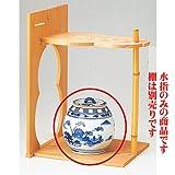 染付 山水芋頭水指 桃峰 【木】 茶道 茶器 抹茶