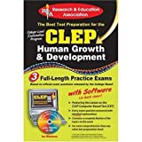img - for CLEP Human Growth & Development w/ CD (REA) - The Best Test Prep for the CLEP (Test Preps) book / textbook / text book