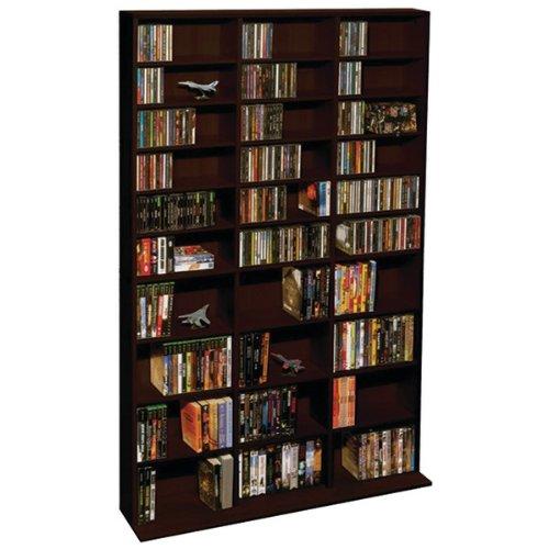 Image of AWM Atlantic 38435714 Oskar 1080-Cd Multimedia Storage Cabinet - A/V Furniture (B0087N50C0)