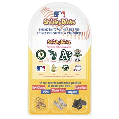 MLB Oakland A's Shrinky Dinks