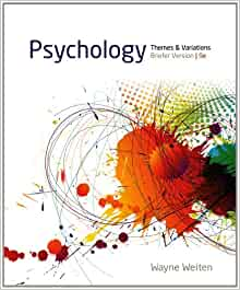 psychology themes and variations study guide