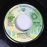 Manfred Mann's Earth Band 45 RPM Starbird No. 2 / Blinded by the Light