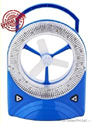 Starlight 32 LED Rechargeable Portable Fan cum Lamp Emergency Night Lamp Laptop USB Support