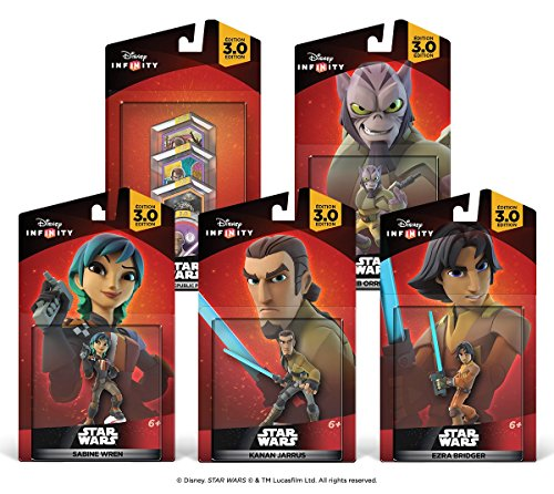Disney Infinity 3.0 Edition: Star Wars Rebels Bundle - Amazon Exclusive (Amazon Frustration Free compare prices)