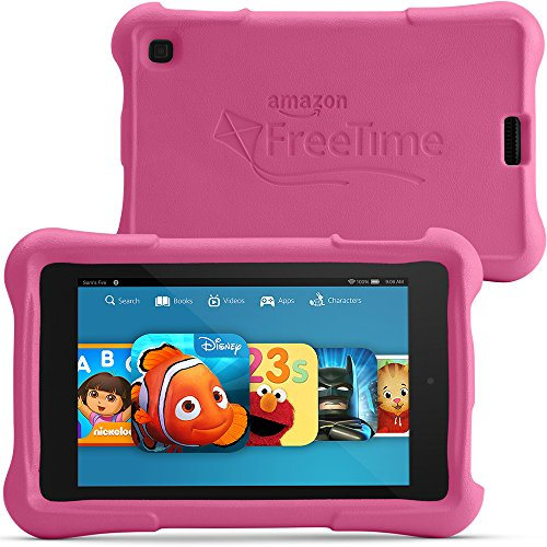 "Fire HD 6 Kids Edition, 6"" HD Display, Wi-Fi, 8 GB, Pink Kid-Proof Case"