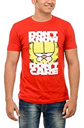 Shop Your Style Men's Cotton T-Shirt (ZYN00B8_XL, Red, X-Large)