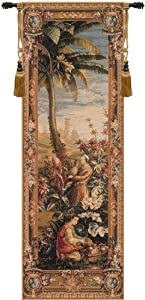 Tapestry, Extra Large, Tall - Elegant, Fine, French & Wall Hanging - Pineapple Harvest (L9133), H87xW29