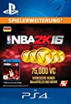 NBA 2K16 75.000 VC-Pack [Spielerweite...