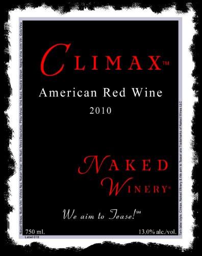 2010 Naked Winery Climax Red Blend 750 Ml