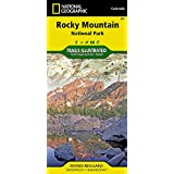 Rocky Mountain National Park: Colorado, USA Outdoor Recreation Map